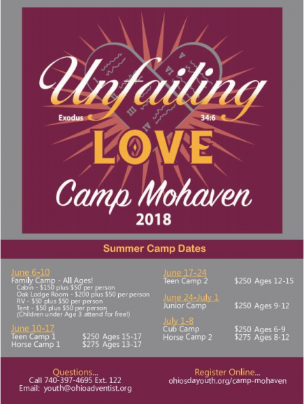**NEW DATE** Summer Camp-Horse Camp 1(ages 13-17)- Please note the date has changed to June 17-24, 2018.